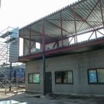 Dak- en wandbeplating uitbreiding kantoor te Putte (11)
