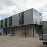 Dak- en wandbeplating uitbreiding kantoor te Putte (2)