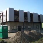 Dak- en wandbeplating uitbreiding kantoor te Putte (3)