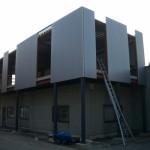 Dak- en wandbeplating uitbreiding kantoor te Putte (6)