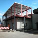 Dak- en wandbeplating uitbreiding kantoor te Putte (8)