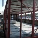 Staalconstructie gereed